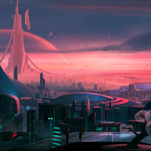 Ultra Hd Wallpaper Sci Fi City Scenery Digital Art 4k 4 2058 For Desktop Laptop Pc Smartphone Ipho Sci Fi City Fantasy Landscape Sci Fi Environment