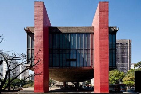 MASP : Museu de Arte de São Paulo : São Paulo Museum of Art | Lina Bo Bardi | Photo : Leonardo Finotti