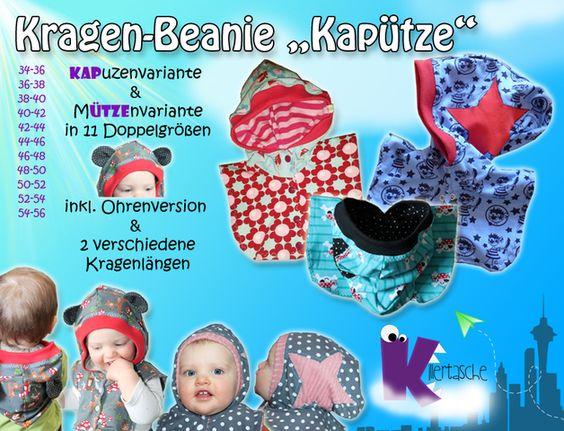 Ebook Kapütze - Kragen-Beanie für Wind & Wetter