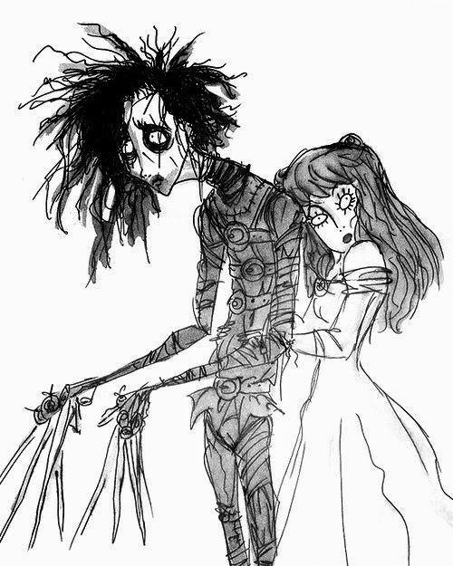 (Fayci Tage): Ilustrações de Tim Burton