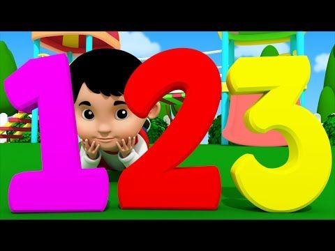 Number Song Kindergarten Nursery Rhymes For Toddlers Video For