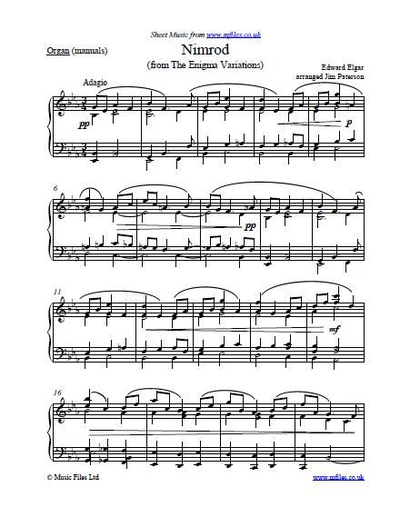 Free Easy Organ Christmas Sheet Music