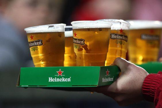 cách uống bia heineken Pháp