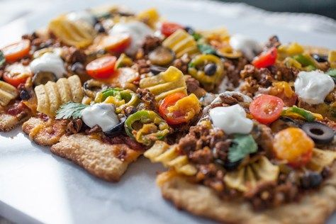Seriously Delicious Taco Pizza | The Artful Gourmet