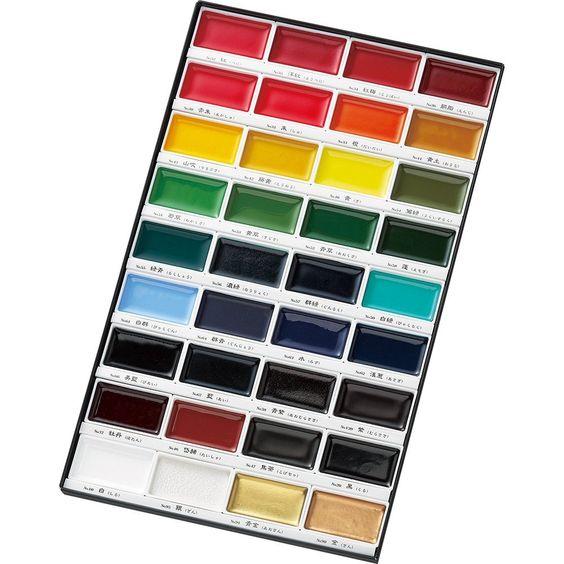 36 color set MC20/36V Kuretake Kuretake picture letter face color Unleashed (japan import): Amazon.de: Spielzeug