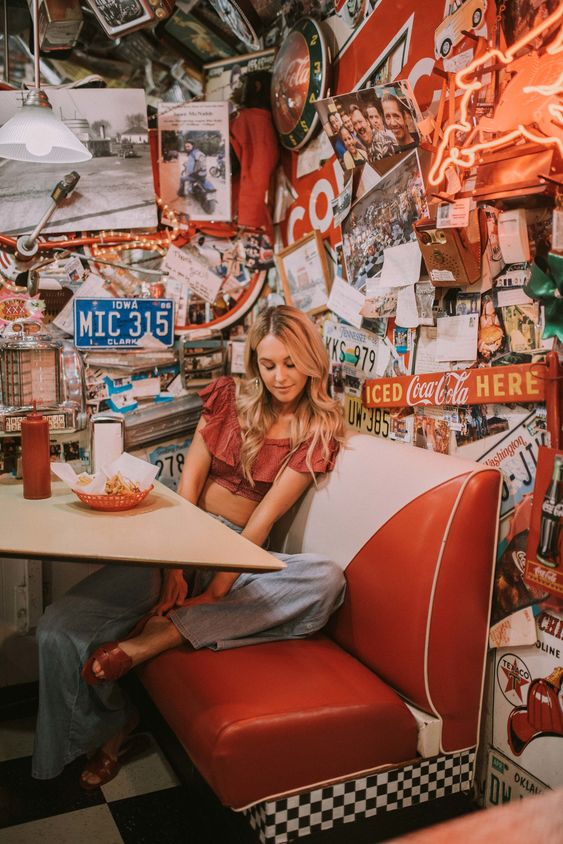 Triple XXX Burgers & Rootbeer, Issaquah, Wa | Restaurants you have to try! | Burgers and Fries | All White Flowers Blog | Soda Shop Sally | By Lauren Parker | Shop the look | Like to Know It | Anthropologie and Nordstrom | Old school diners and dives