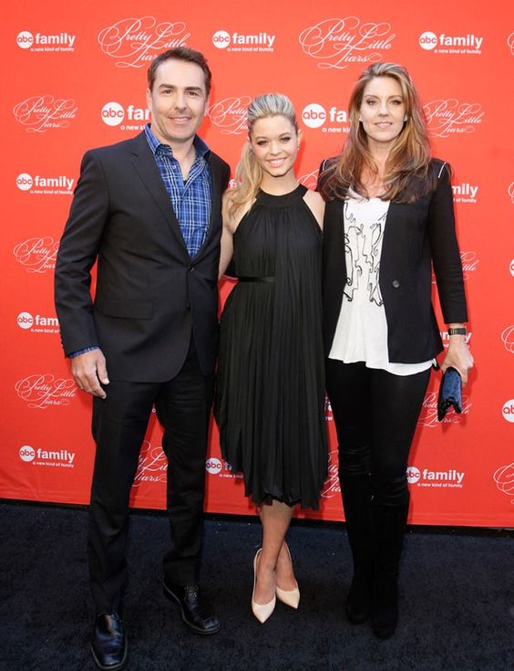 Nolan North, Sasha Pieterse, & Andrea Parker | Pretty ...