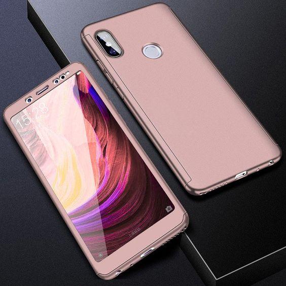 360 Hard Case For Xiaomi Mi A2 Lite A1 Mix 2 Mi5s Mi 8 Tempered Glass Case On Redmi 4a S2 6a 4 6 5 Plus Note 4x 5a Prime 5 Pro Full Cover Phone Case Phone Cases Case