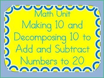 Subtraction : subtraction worksheets through 20 Subtraction ...