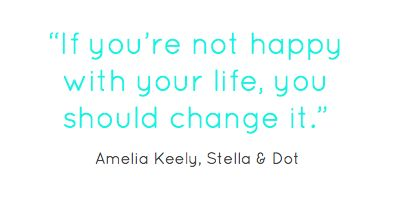Amelia Keely, director at Stella & Dot