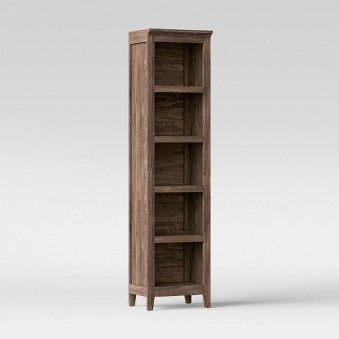 72 Carson Narrow Bookcase Threshold Bookcase Antique Shelves Narrow Bookshelf