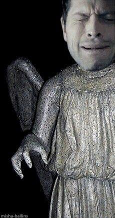 It's a weeping angel!