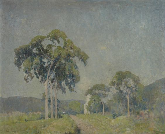Emil Carlsen Landscape with Trees, c.1907  #Artist #EmilCarlsen #Venice #paintings #painter #PaintingsofVenice #EmileCarlsen #SorenEmileCarlsen #SorenEmilCarlsen #AmericanImpressionism #Impressionism #StillLife #StillLifePainter #StillLives #LandscapePainting #MarinePainting #Trees #PaintingsofTrees #Forest  Learn about artist Emil Carlsen at http://emilcarlsen.org