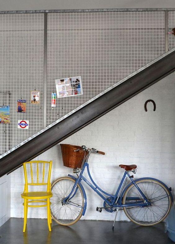 Balustrada Z Metalowej Siatki Stairways Stairs Interior