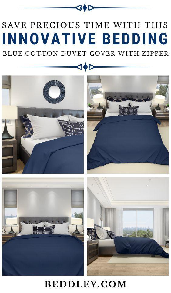 Blue Cotton Duvet Cover Cotton Duvet Cover Bedroom Design Inspiration Home Decor