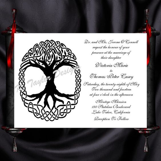 Hey, I found this really awesome Etsy listing at https://www.etsy.com/listing/163213690/tree-of-life-invitation-rsvp-celtic-life
