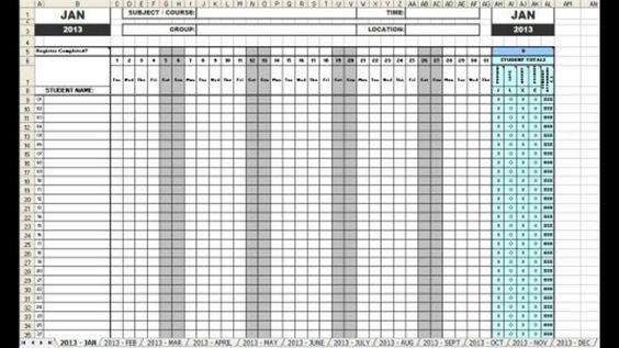 Employee meeting attendance sheet template Templates Pinterest - attendance template