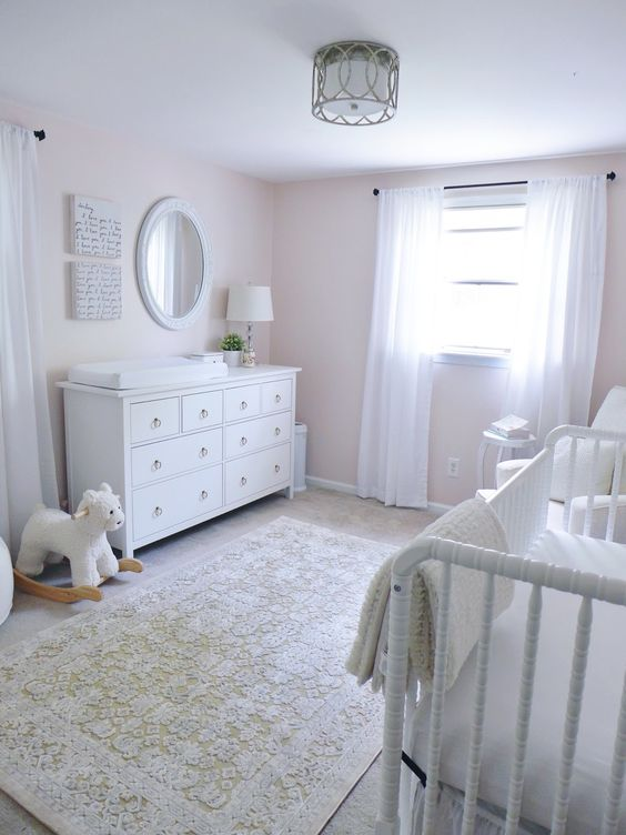 Classic White Nursery Decorations Gender Neutral Nurseries Beautiful Nurser