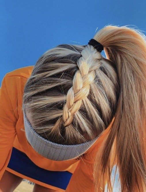45 Best Braid Hairstyle Ideas For Girls Nowadays Braidhairstyleideas Braidhairstyles Braidhairstylesforlongha Sporty Hairstyles Hair Styles Long Hair Styles