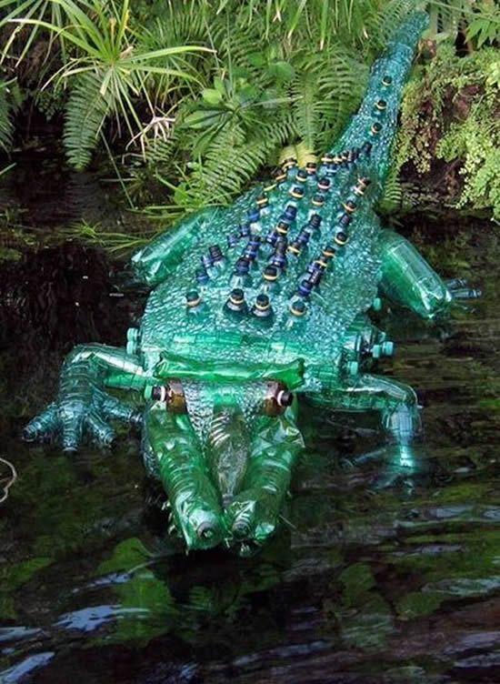 Bichinhos Feitos Com Garrafas Pet Garrafas Pet Reciclagem De