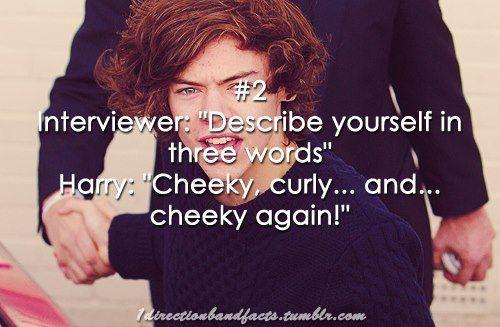 Cheeky.
