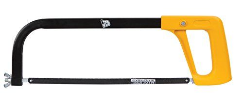 JCB Tools Hacksaw Frame – Tubular with Die Cast Handle Fitted with 12″ Chrome Alloy Steel Blade, 22025268