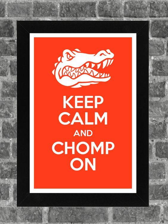Keep Calm Florida Gators