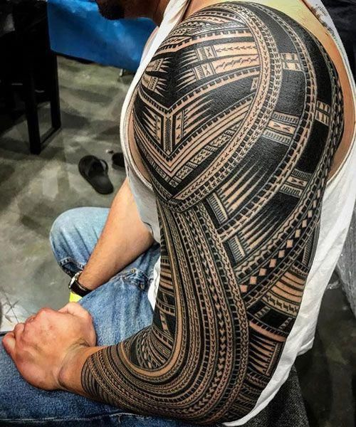 Best Tribal Arm Tattoos Best Tribal Tattoos For Men Cool Tribal Tattoo Designs And Ideas For Guys In 2020 Tribal Tattoos Tribal Tattoos For Men Tribal Arm Tattoos