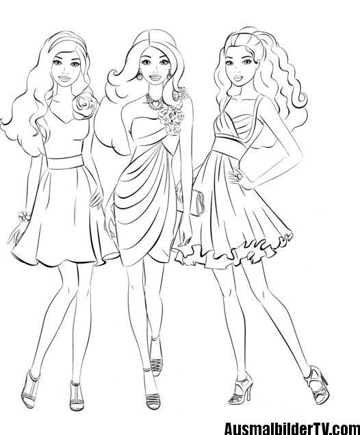 Barbie Zum Ausmalen Barbie Malvorlagen Malvorlage Prinzessin Barbie Zum Ausmalen
