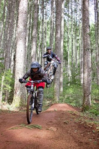 Mountain Biking Black Rock Mountain Bike Park Downhill Freeride