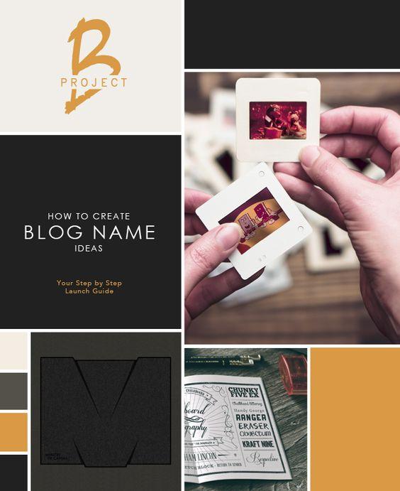 Get Creative: Brainstorming Blog Name Ideas in 7 Steps   Ideas ...