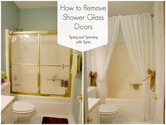 How To Remove Shower Glass Doors Glass Shower Doors Glass