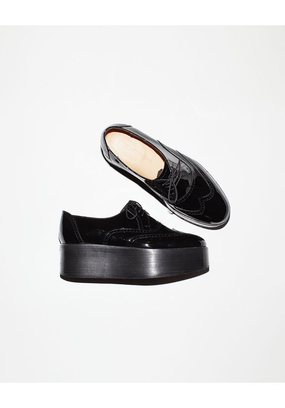 Sophisticated creepers. Dieppa Restrepo Coca Colo High Platform Oxford | La Garçonne