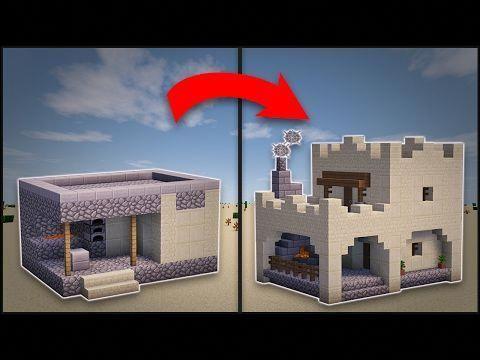 Minecraft: How To Remodel A Village Butcher s Shop YouTube #littlekitchenremodel #kitchendesignm Minecraft architecture Minecraft blueprints Minecraft crafts