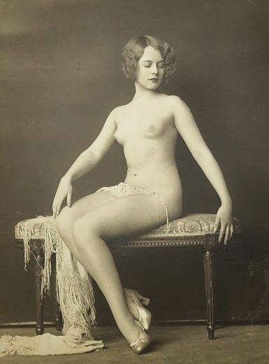 Paulette Goddard by Alfred Cheney Johnston, 1926