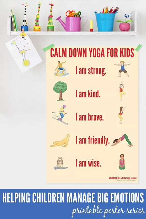 Stress Management - Yoga for Kids