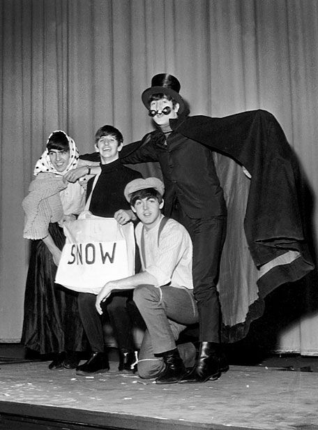 George Harrison, Richard Starkey, John Lennon, and Paul McCartney (The Beatles Christmas Show)