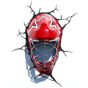 3D Wandleuchte LED Modern Eishockey Helm Design