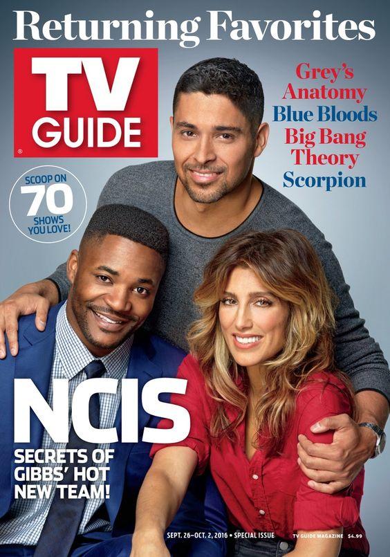 Nové tváře NCIS, speciální vydání časopisu TV Guide, 26. 9. - 2. 10. 2016