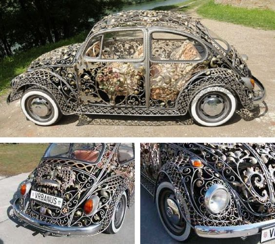 Steampunk victorien filigree beetle Volkswagen By vrbanus https://instagram.com/p/2hLro_EasE/