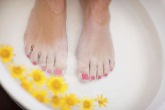 How to Have Pretty Feet Pamper you feet for pretty soft feet for your wedding and honeymoon. #beautytips #makeup #wellness
