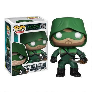 "Starling+City+needs+protection+and+who+better+than+the+Arrow?+Let+him+protect+your+collection+as+the+POP+TV:+Arrow+-+The+'Arrow'+Vinyl+Pop!+Figure.+This+wonderful+miniature+looks+just+like+the+vigilante+Arrow+on+The+CW's+Arrow,+as+played+by+Stephen+Amell.+The+figure+comes+in+the+hooded+green+costume+worn+by+the+Arrow+and+carries+a+bow.+Made+by+Funko.+Measures+approximately+3+3/4""+tall."