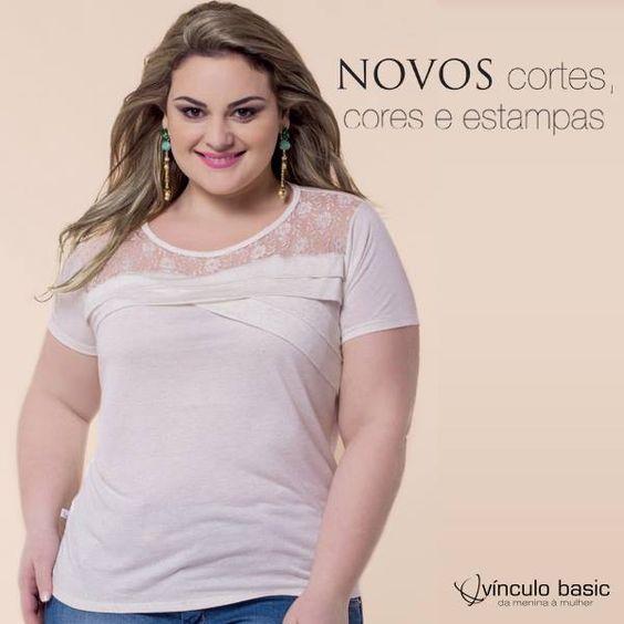 #Blusa com corte diferenciado da linha #contemporânea para você fazer bonito nos jantares de fim de ano. #moda #lookdodia #plussize