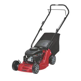 Mountfield HP164 39cm 2.72hp 100cc Push Rotary Petrol Lawn Mower | Petrol | Screwfix.com