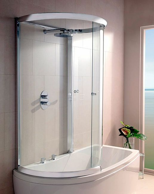 corner bath with shower and screen - Google Search