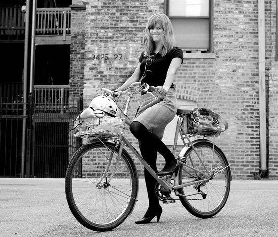 Betty (the bike) and Dottie.