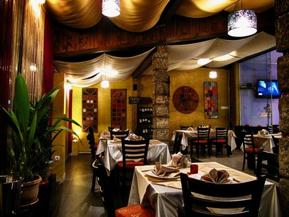 View of Saffron restaurant