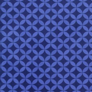Timeless Treasures House Designer - Happy Together Corduroy - Cathedral Dot in Blue