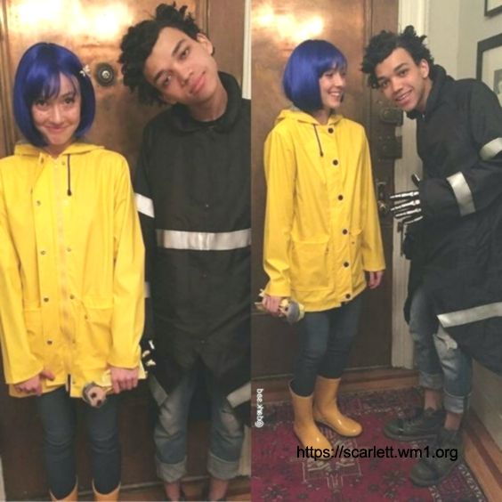 Do Wybie Coraline Costume Yourself Costume Idea For Carnival Halloween F Coraline Costume Coraline Couple Halloween Costumes