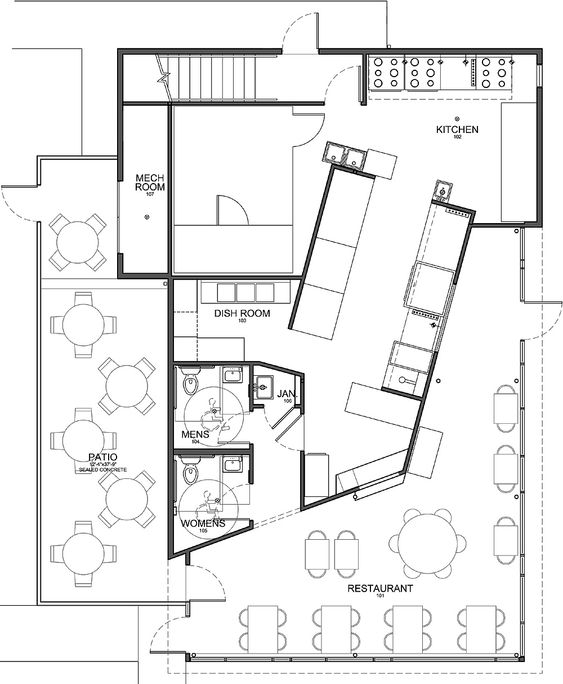 Modern Kitchen Plan banquet hall stage layout cartoons - google search | layout